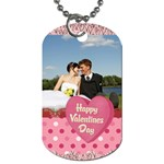 love,memory, happy, fun  - Dog Tag (Two Sides)