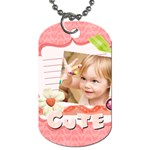 kids, love, family, happy, play, fun - Dog Tag (Two Sides)