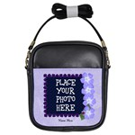 Purple Lady Bug Girl Sling Bag - Girls Sling Bag