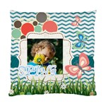 kids, fun, child, play, happy - Standard Cushion Case (Two Sides)