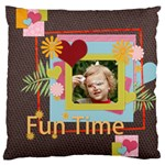 easter, spring, kids - Large Cushion Case (One Side)