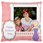 mothers day - Large Cushion Case (Two Sides)