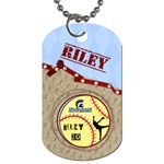 Dogtags_2 sides_Riley - Dog Tag (Two Sides)