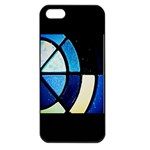 IP CASE blue color blocks w blacxk - iPhone 5 Seamless Case (Black)