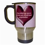 Awesome Grandma Travel Mug - Travel Mug (White)