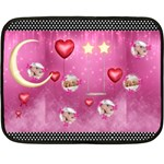 SWEET DREAM - Double Sided Fleece Blanket (Mini)