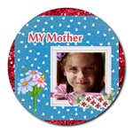 mother s day - Round Mousepad