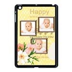 happy birthday - Apple iPad Mini Case (Black)