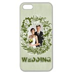 wedding - Apple Seamless iPhone 5 Case (Clear)