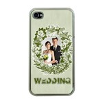 wedding - Apple iPhone 4 Case (Clear)