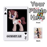 D.C. Brony OC Playing Cards - Playing Cards 54 Designs