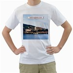 Chiesa di Francesco t-shirt - Men s T-Shirt (White) (Two Sided)