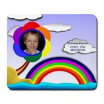 Over the RAINBOW large mouse pad - Large Mousepad