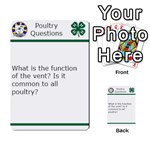 Poultry Question Cards - Multi-purpose Cards (Rectangle)