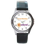 SolaveiMetalWatch - Round Metal Watch