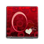 I Heart you Red memory card reader - Memory Card Reader (Square 5 Slot)
