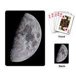 First Quarter (Half moon) playing cards - Playing Cards Single Design (Rectangle)