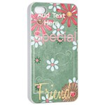 Dear Mom iPhone 4/4S Case - iPhone 4/4s Seamless Case (White)