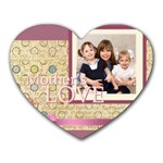 mothers day - Heart Mousepad