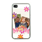 mothers day - Apple iPhone 4 Case (Clear)