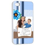 baby - iPhone 4/4s Seamless Case (White)