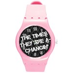 time -watch - Round Plastic Sport Watch (M)