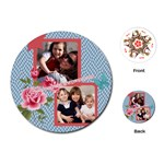 mothers day - Playing Cards Single Design (Round)