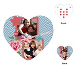 mothers day - Playing Cards Single Design (Heart)