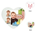 kids - Playing Cards Single Design (Heart)
