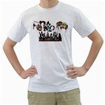 Papa - Fathers day 2013 - Men s T-Shirt (White) (Two Sided)