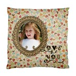 Love You Pillow - Standard Cushion Case (One Side)