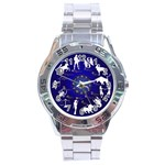 horoscope - Stainless Steel Analogue Watch