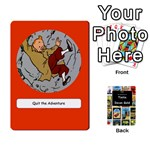 Tintin Incan Gold - Playing Cards 54 Designs (Rectangle)