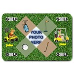 Golfers  large door mat 2 - Large Doormat