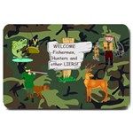 outdoorsman s  large doormat