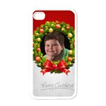 Jordan Christmas iphone case - Apple iPhone 4 Case (White)