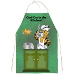 Cool Cat Apron - Full Print Apron