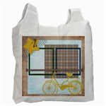 Bicycle Recycle Bag - Recycle Bag (Two Side)