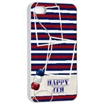 Day of Independance iPhone 4/4S Case - iPhone 4/4s Seamless Case (White)
