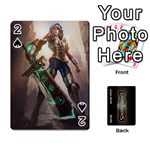 LoL front/back cards - Playing Cards 54 Designs (Rectangle)
