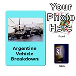 TFL IABSM Falklands Deck Argentine - Playing Cards 54 Designs (Rectangle)