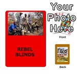 TFL BMaso Modern Deck Rebels - Playing Cards 54 Designs (Rectangle)