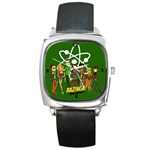 big bang theory square watch - Square Metal Watch