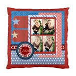 usa 4 july - Standard Cushion Case (One Side)