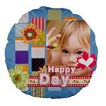 kids - Large 18  Premium Round Cushion