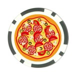 pizza - Poker Chip Card Guard (10 pack)