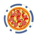 pizza - Poker Chip Card Guard