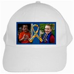 I walk for these boys-Autism Awareness -White Cap