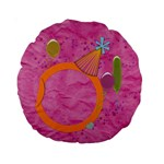 Girl`s Party 15  cushion - Standard 15  Premium Round Cushion