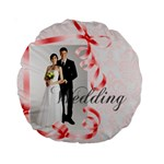 wedding - Standard 15  Premium Round Cushion